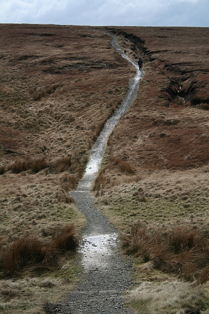 Pennine Way Crosses Oldgate Moss