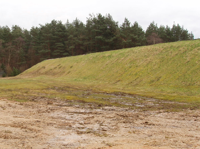 Crowthorne Reservoir, Swinley Forest