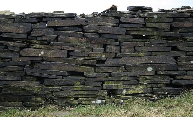 Drystone Wall on Rape Hill
