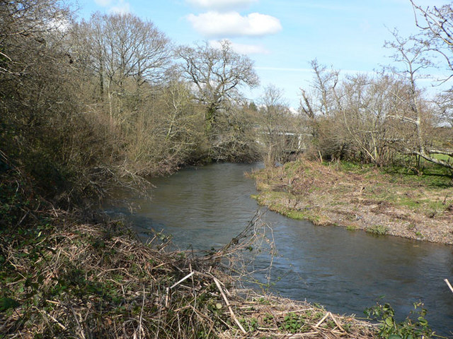 River Teign near Chudleigh Knighton