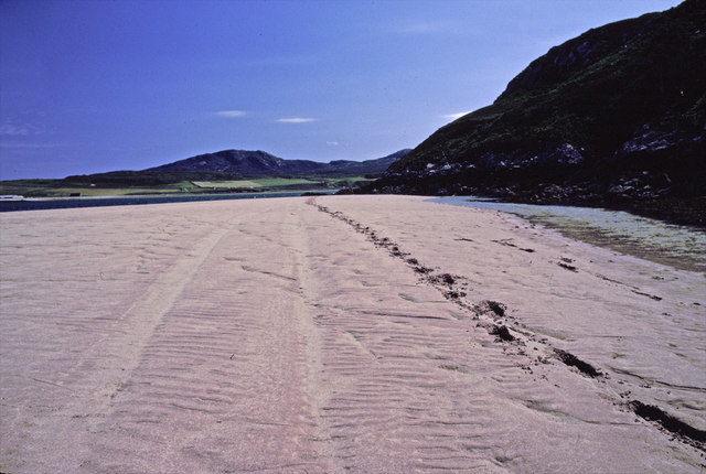 Keoldale looking south down Kyle of Durness
