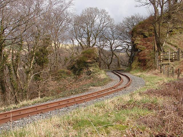 Vale of Rheidol Railway at Derwen (4)