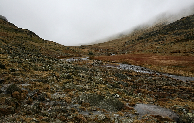 Near the Top of Styhead Gill (2)