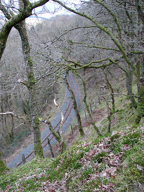 Vale of Rheidol Railway at Derwen (7)