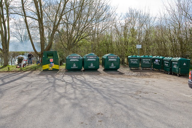 All kinds of recycling at West Wellow Village Hall