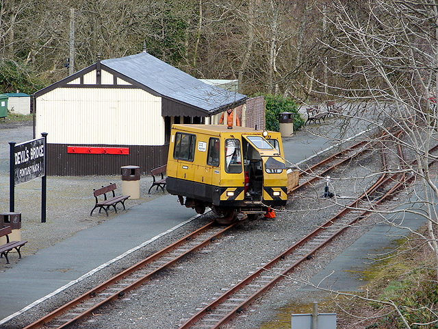 Vale of Rheidol Railway 'Permquip' personnel carrier