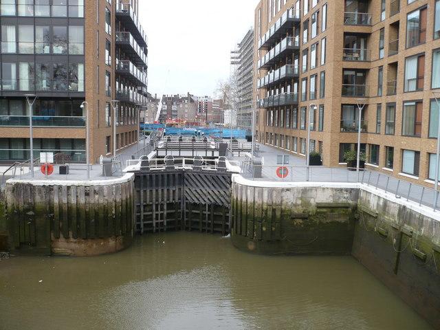 Locks at Grosvenor Waterside Development
