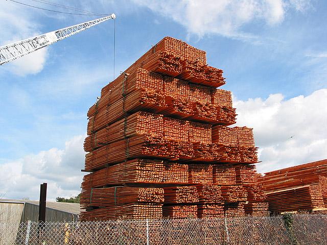 Timber pagoda