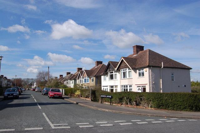 Coniston Avenue in the Headington area of Oxford