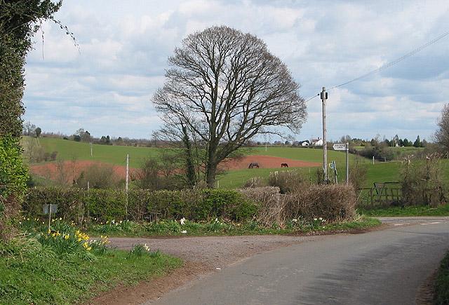 Turn left to Holder's Farm