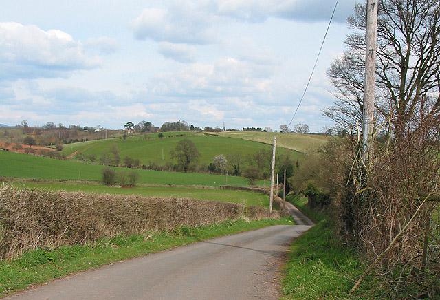 Lane to Hillend Green