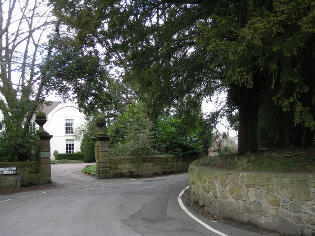 Church Lane junction with Witchwell Lane