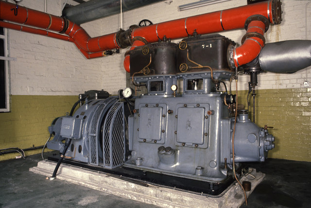 George Street Mills - the third engine