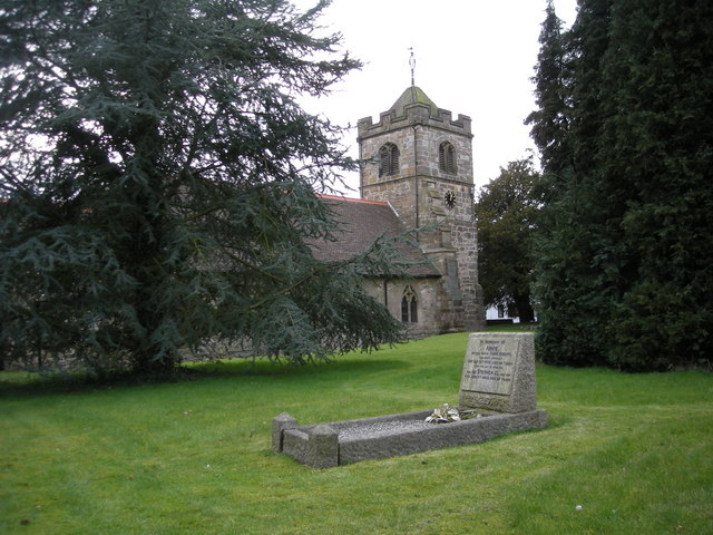 In St Lawrence's churchyard