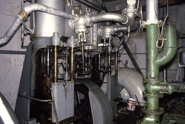 Steam pumping engines, Manchester Dry Docks