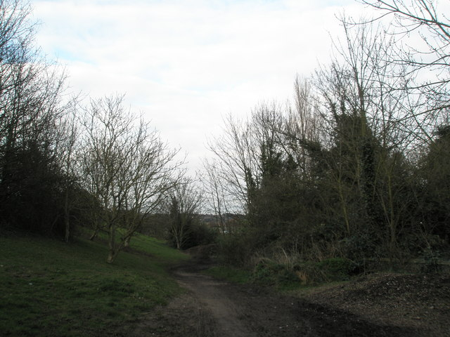 Path at Hilsea Lines