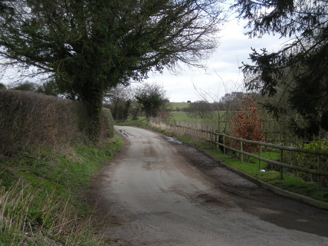 Lane near Huntington