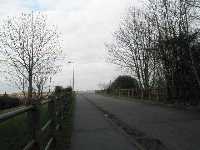 Bridge for pedestrians and motorbikes between Hilsea and Cosham