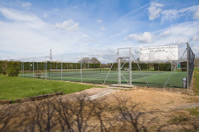 Wellow Parish Public Tennis Courts, Romsey Road, West Wellow
