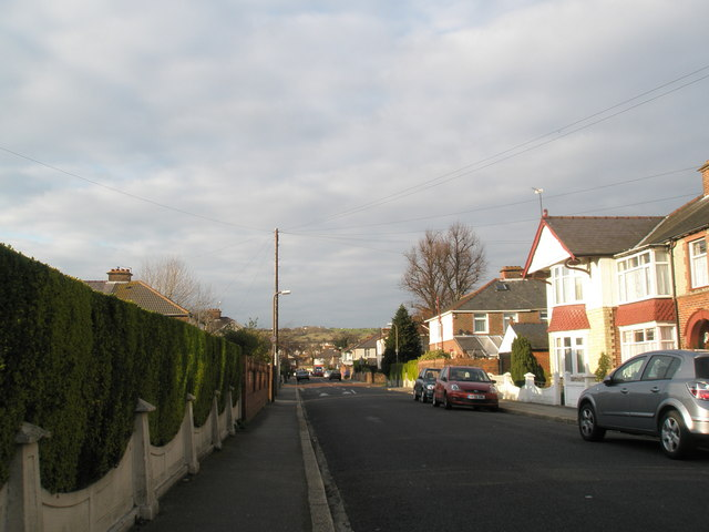 Pitreavie Road near Edgerly Gardens