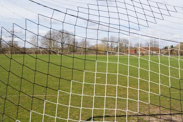 Football fields, Romsey Road, West Wellow