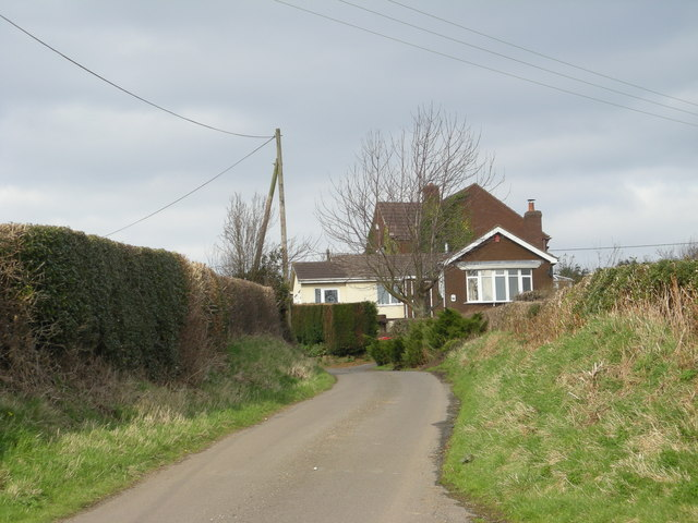 Another view of Coalmoor Lane