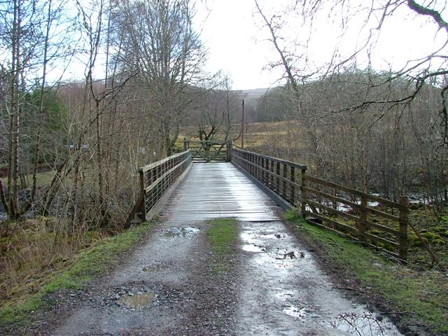 Bridge on the Allt Leachdach.