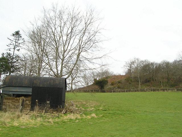 Barn near Pencarreg