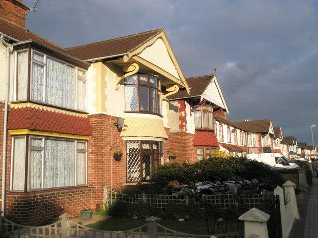 Trademark gables on the Highbury Estate