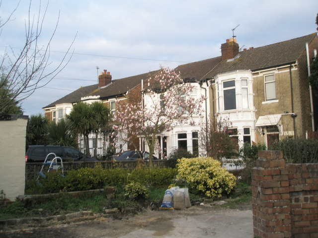 Villas at end of Windsor Road