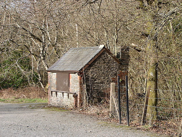 Weighbridge building, Devil's Bridge Station