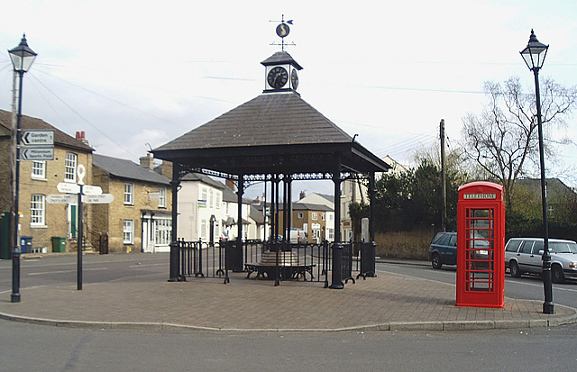 Village centre, Somersham