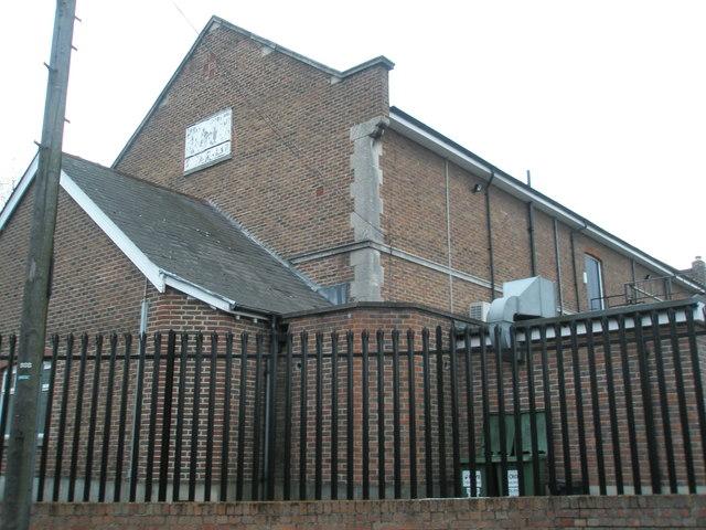 Rear of Masonic Hall, Cosham