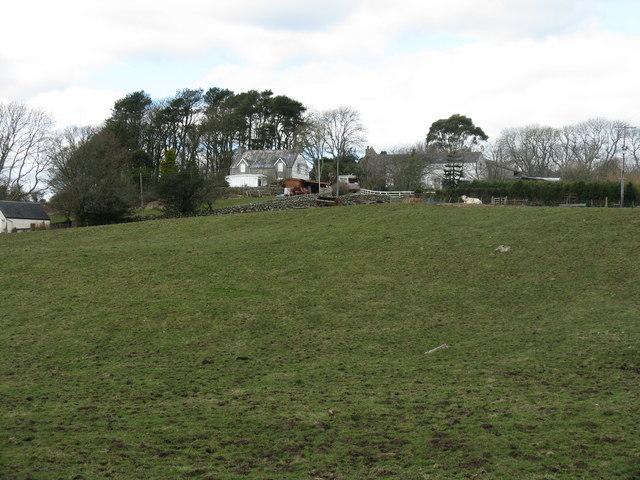 East Barcloy farm, Colvend