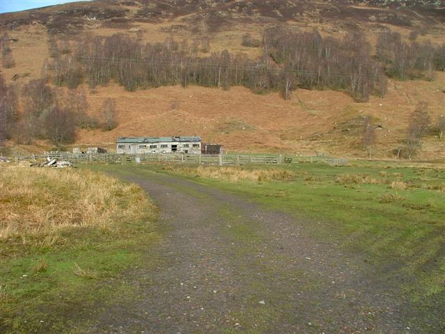 Dilapidated Farm Building at Murlaggan