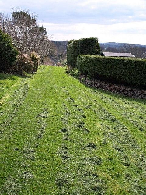 Footpath near Camelford