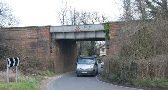 Railway Bridge, Cliffs End, Thanet