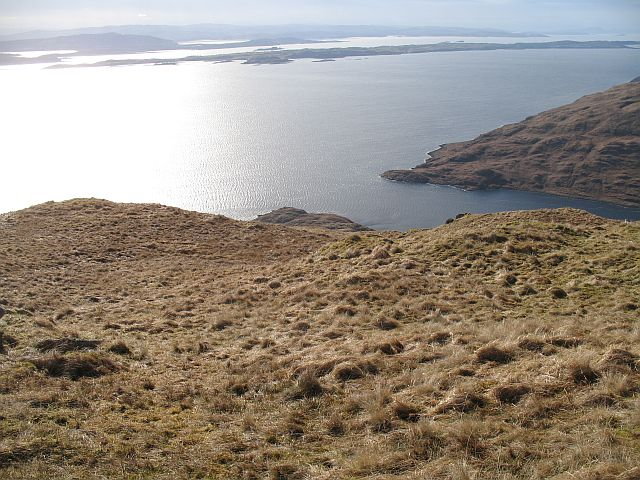 Southern slopes of Beinn na Cille