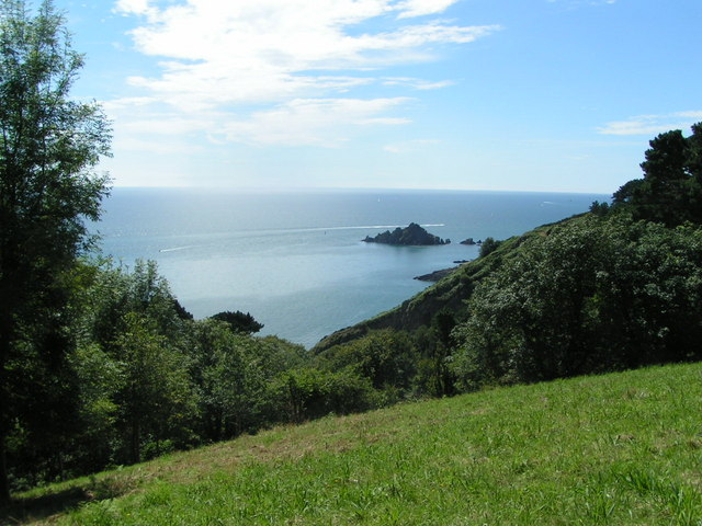 Seaview from Coleton Fishacre