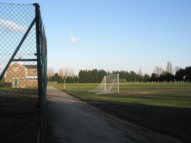 Football field at Drayton Park