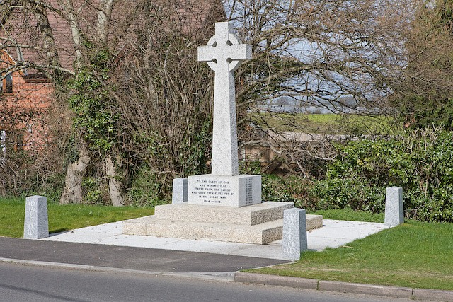 War memorial on Romsey Road, West Wellow