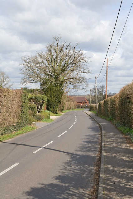 North end of Buttons Lane, West Wellow