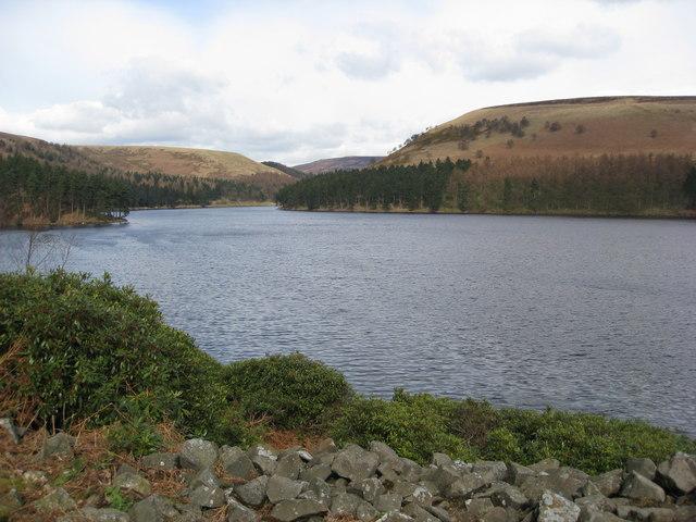 Howden Reservoir - Windy Corner View