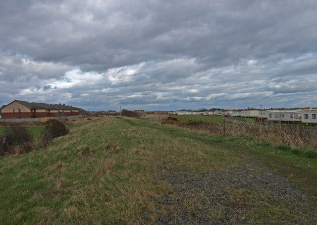 Dismantled railway, Stevenston