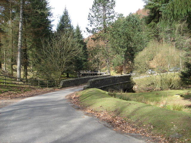 Howden Reservoir Inlet - Bridge over River Westend