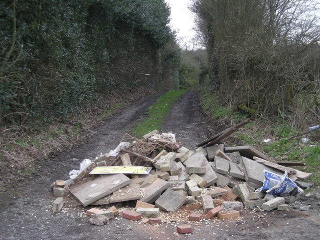 Obstruction on the bridleway