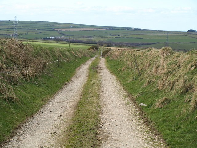 Farm track near Starapark