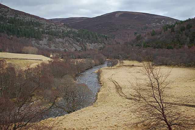 River Gairn below Lary