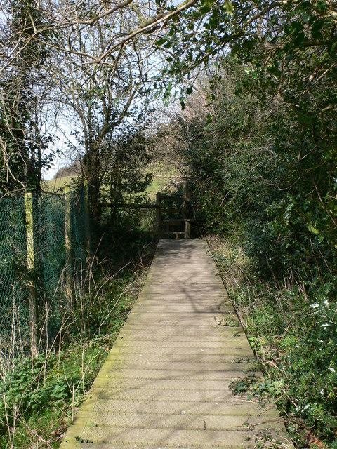 Footpath from Ruabon to Tatham