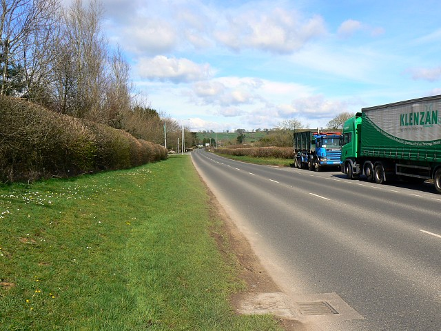 A371 near Bath and West showground, Shepton Mallet
